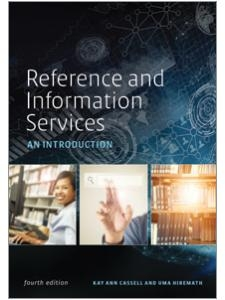 book cover for Reference and Information Services: An Introduction, Fourth Edition