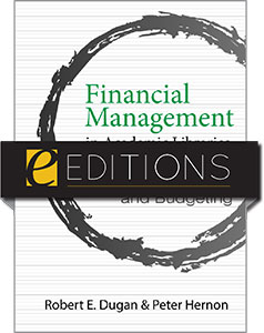 book cover for Financial Management in Academic Libraries: Data-Driven Planning and Budgeting e-book