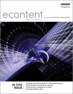 eContent Quarterly, volume 1 number 1