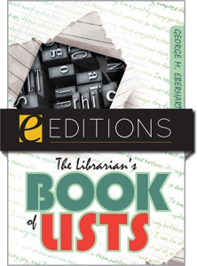 The Librarian's Book of Lists--eEditions PDF e-book