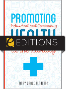 cover image for Promoting Individual and Community Health at the Library--e-book