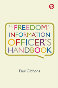book cover for The Freedom of Information Officer's Handbook