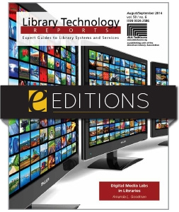 Digital Media Labs in Libraries—eEditions e-book