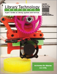3-D Printers for Libraries