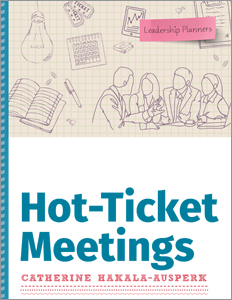 book cover for Hot-Ticket Meetings