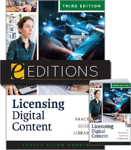 cover image for Licensing Digital Content, Third Edition--print/e-book bundle