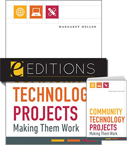 cover image for Community Technology Projects: Making Them Work--print/e-book bundle