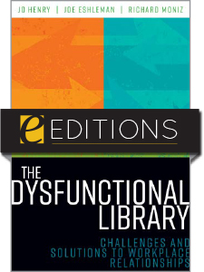 book cover for The Dysfunctional Library--e-book