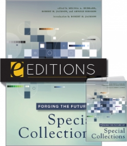 cover image for Forging the Future of Special Collections — print/e-book Bundle