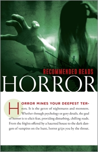 producvt image for Horror (Resources for Readers pamphlets)