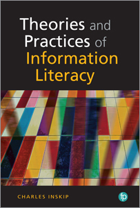 book cover for Theories and Practices in Information Literacy