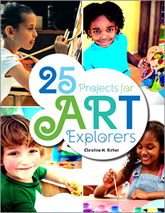 book cover for 25 Projects for Art Explorers