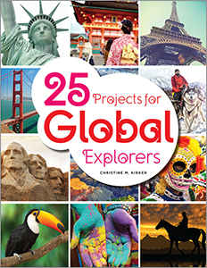 book cover for 25 Projects for Global Explorers