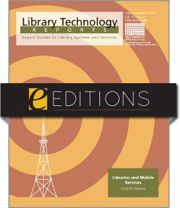 Libraries and the Mobile Web--eEditions e-book