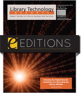 Running the Digital Branch: Guidelines for Operating the Library Website--eEditions e-book