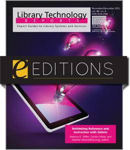 Rethinking Reference and Instruction with Tablets--eEditions e-book