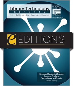 Resource Sharing in Libraries: Concepts, Products, Technologies, and Trends--eEditions e-book