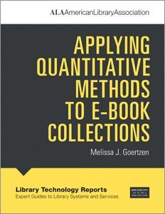 Applying Quantitative Methods to E-book Collections