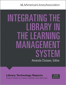 Integrating the Library in the Learning Management System