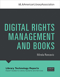 book cover for Digital Rights Management and Books