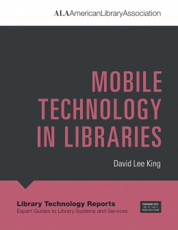book cover for Mobile Technology in Libraries