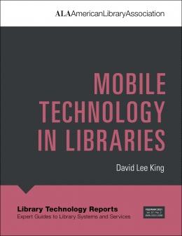 book cover fr Mobile Technology in Libraries
