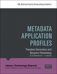 book cover for Metadata Application Profiles