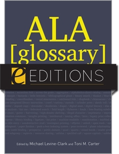 ALA Glossary of Library and Information Science, Fourth Edition--eEditions e-book