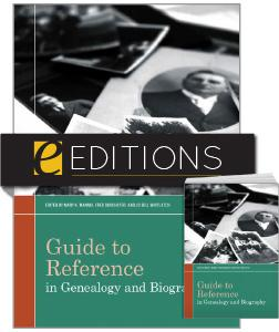 Guide to Reference in Genealogy and Biography —print/e-book Bundle
