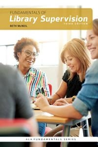 book cover for Fundamentals of Library Supervision, Third Edition