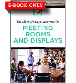 The Library's Legal Answers for Meeting Rooms and Displays—eEditions e-book