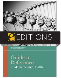 Guide to Reference in Medicine and Health—eEditions e-book