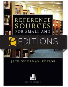 Reference Sources for Small and Medium-sized Libraries, Eighth Edition—eEditions e-book