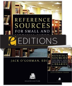 Reference Sources for Small and Medium-sized Libraries, Eighth Edition—print/e-book Bundle