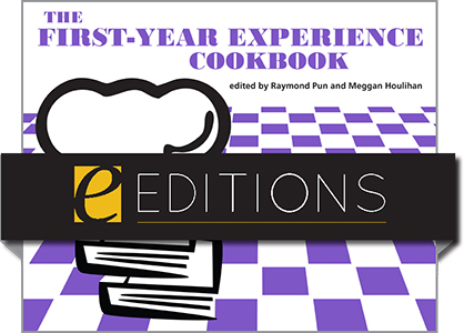 book cover for The First-Year Experience Cookbook—eEditions PDF e-book