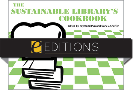 cover image for The Sustainable Library's Cookbook—eEditions PDF e-book