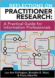 book cover for Reflections on Practitioner Research: A Practical Guide for Information Professionals