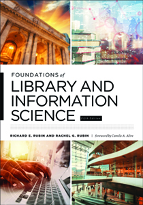 book cover for Foundations of Library and Information Science, 5th ed.