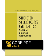 cover image for Sudden Selector's Guide to Political Science Resources
