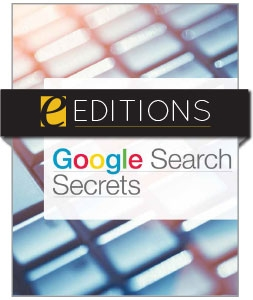 Google Search Secrets—eEditions PDF e-book