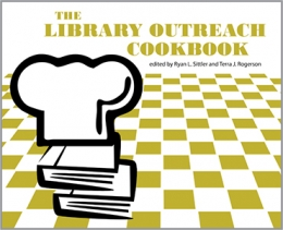 book cover for The Library Outreach Cookbook