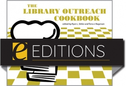 cover image for The Library Outreach Cookbook—eEditions PDF e-book