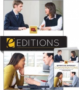 Effective Difficult Conversations: A Step-by-Step Guide—print/e-book Bundle