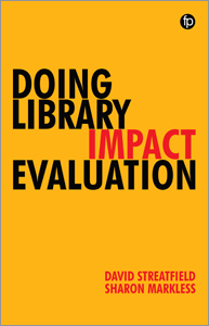 book cover for Doing Library Impact Evaluation: Enhancing Value and Performance in Libraries