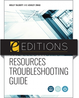cover image for The Electronic Resources Troubleshooting Guide—e-book