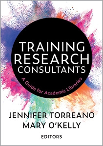 book cover for Training Research Consultants: A Guide for Academic Libraries