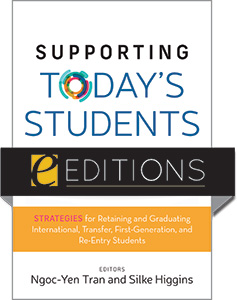 cover image for Supporting Today's Students in the Library: Strategies for Retaining and Graduating International, Transfer, First-Generation, and Re-Entry Students—eEditions PDF e-book