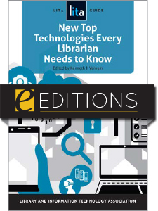 cover image for New Top Technologies Every Librarian Needs to Know--e-book