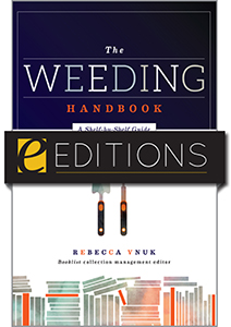 The Weeding Handbook: A Shelf-by-Shelf Guide—eEditions e-book