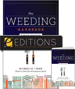 The Weeding Handbook: A Shelf-by-Shelf Guide—print/e-book bundle